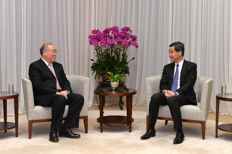 CE meets Special Representative for Climate Change of China (with photo)